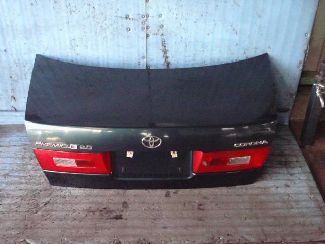 Крышка багажника TOYOTA CORONA PREMIO ST215. Фото 3