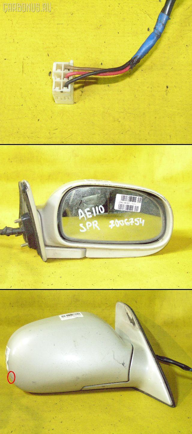 Зеркало двери боковой TOYOTA SPRINTER AE110. Фото 8