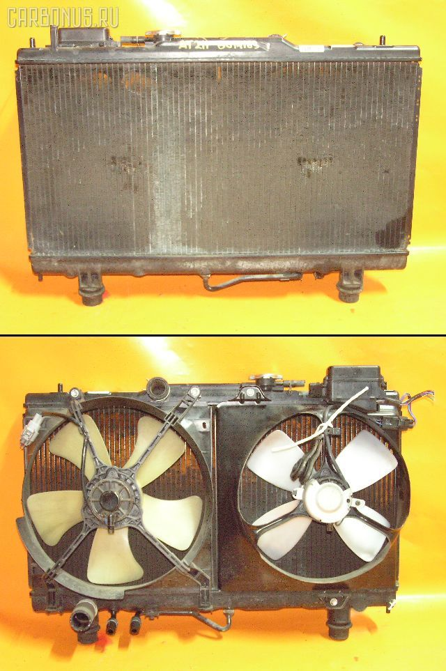 Радиатор ДВС TOYOTA CORONA PREMIO AT210 4A-FE. Фото 3