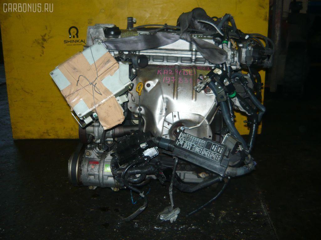 Двигатель NISSAN BASSARA JNU30 KA24DE. Фото 5