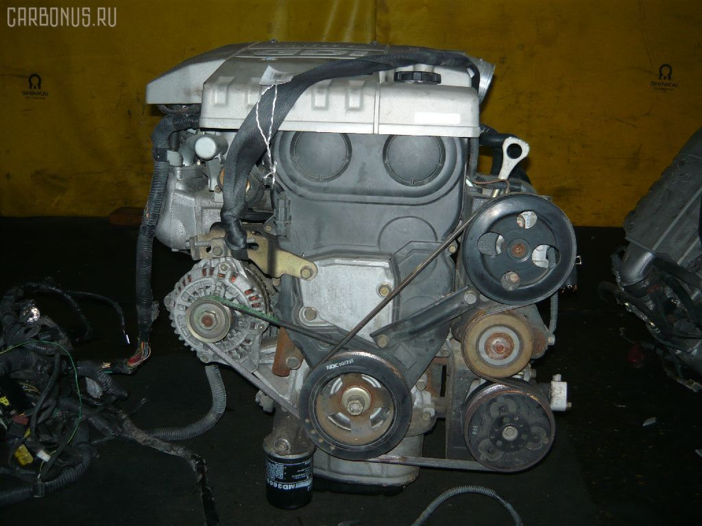 Двигатель MITSUBISHI PAJERO IO H66W 4G93. Фото 1