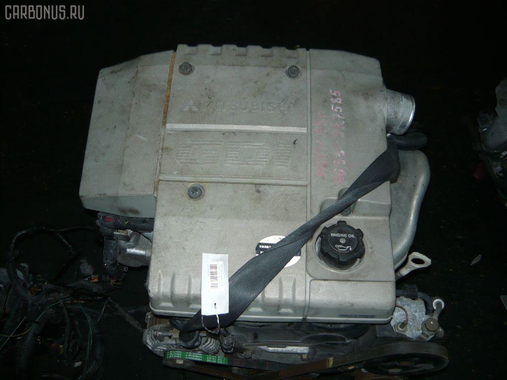 Двигатель MITSUBISHI PAJERO IO H66W 4G93. Фото 2