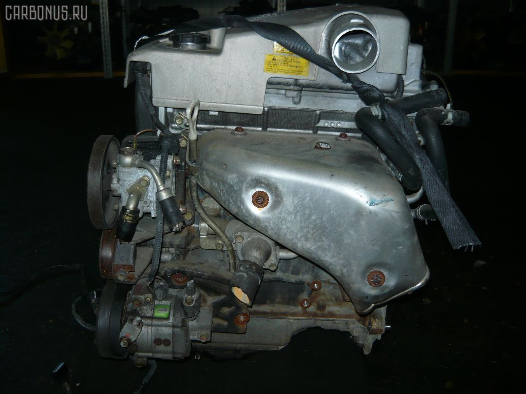 Двигатель MITSUBISHI PAJERO IO H66W 4G93. Фото 3