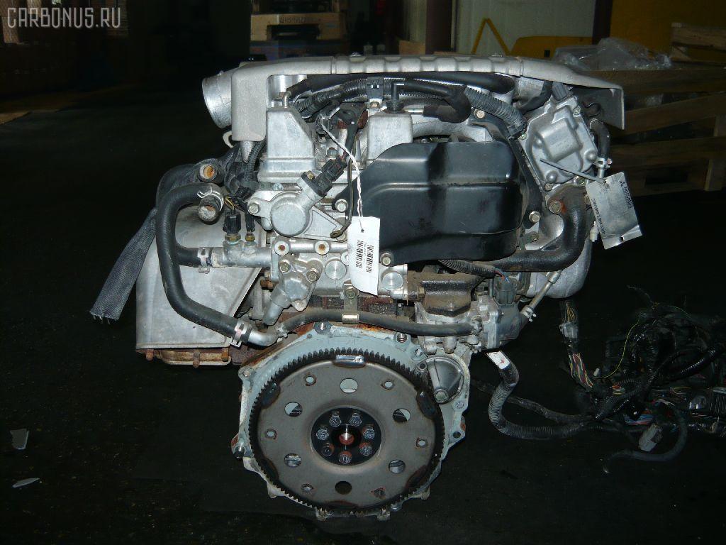 Двигатель MITSUBISHI PAJERO IO H66W 4G93. Фото 4