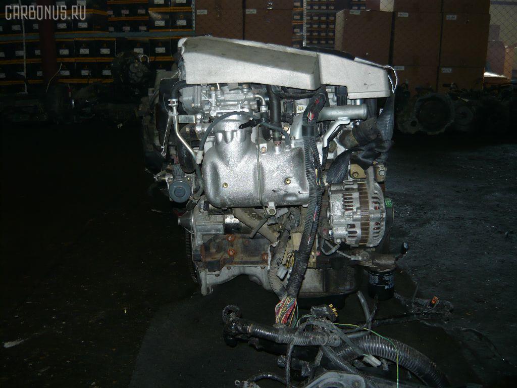 Двигатель MITSUBISHI PAJERO IO H66W 4G93. Фото 5