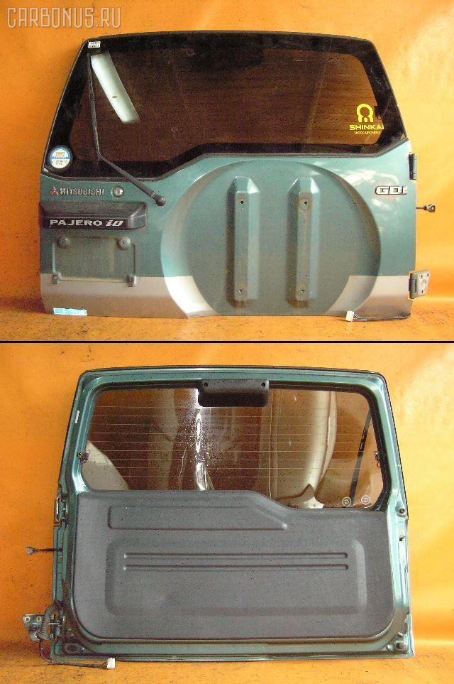 Дверь задняя MITSUBISHI PAJERO IO H66W. Фото 8