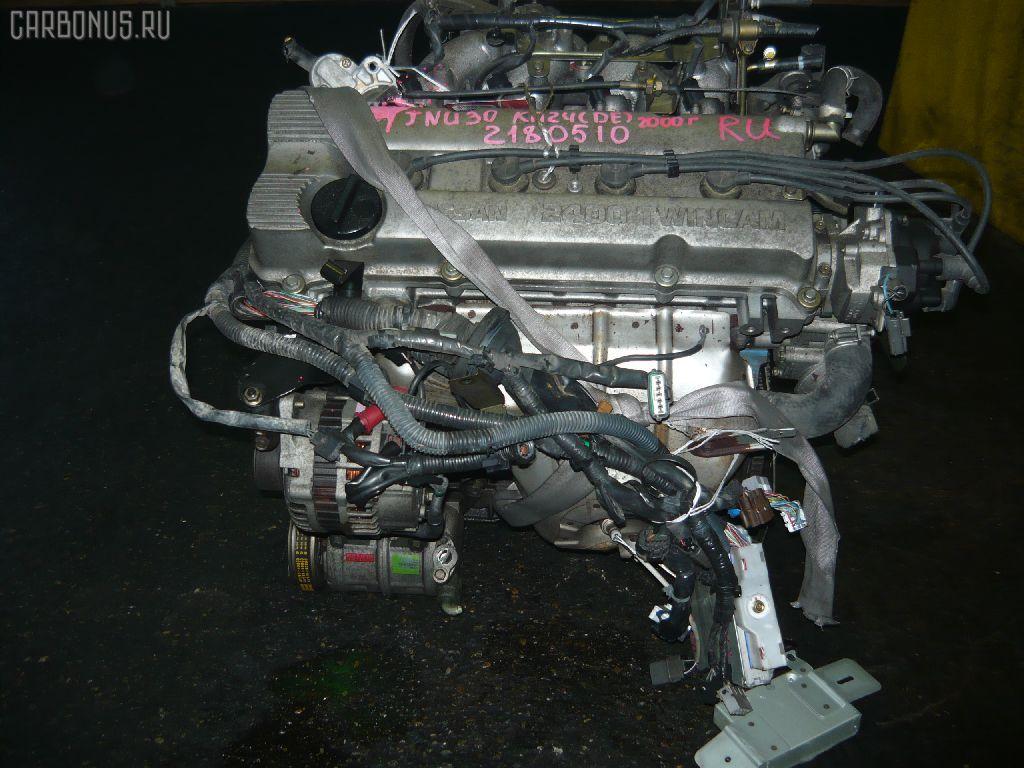 Двигатель NISSAN BASSARA JNU30 KA24DE. Фото 7