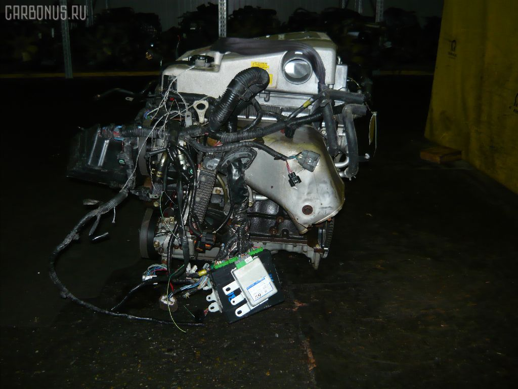 Двигатель MITSUBISHI PAJERO IO H66W 4G93. Фото 7