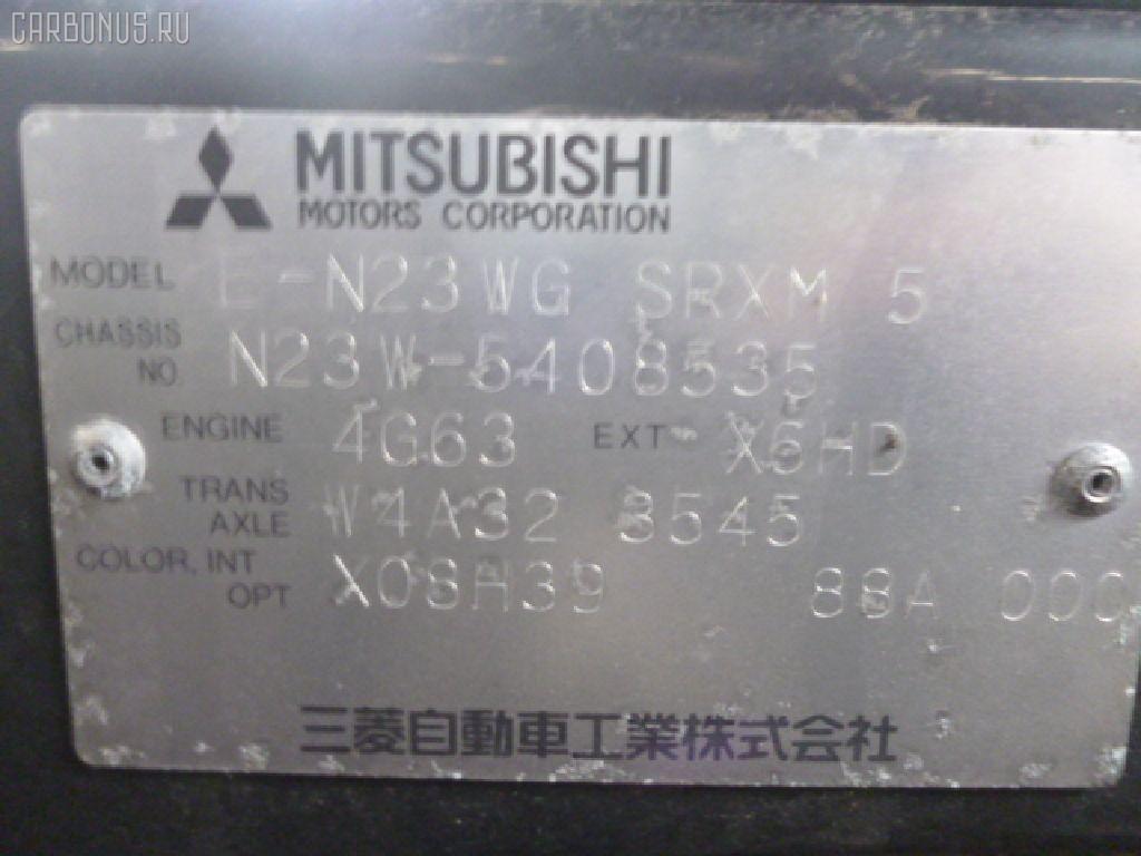 Крепление капота MITSUBISHI RVR N23W Фото 6