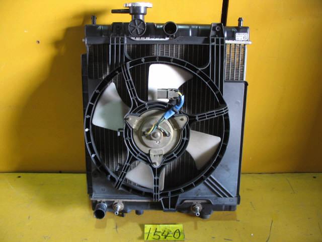Радиатор ДВС NISSAN MARCH HK11 CG13DE. Фото 2