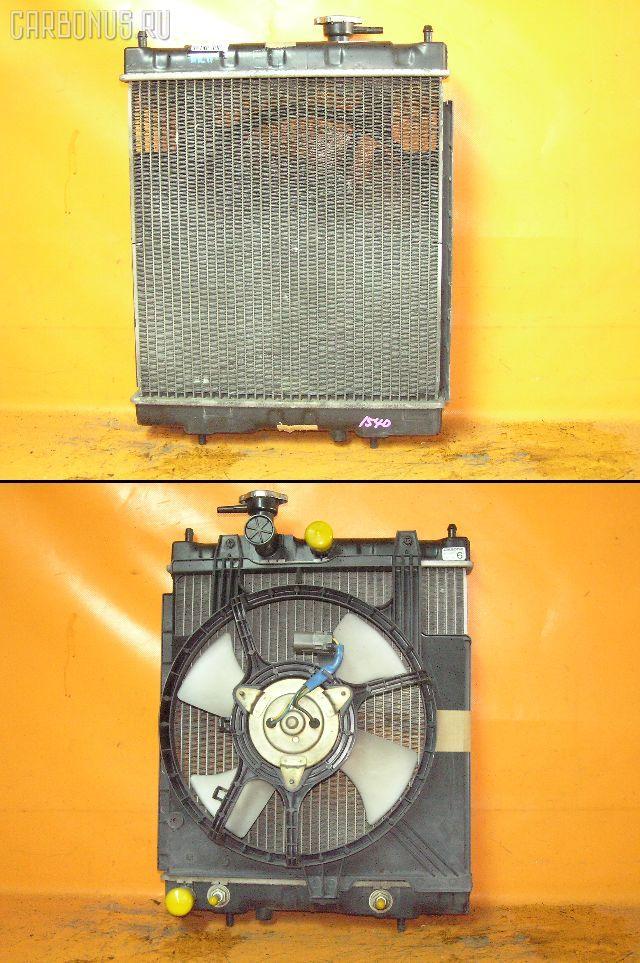 Радиатор ДВС NISSAN MARCH HK11 CG13DE. Фото 1