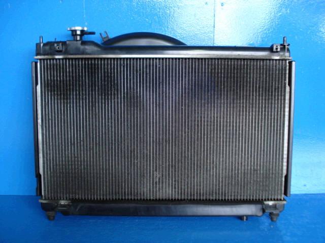 Радиатор ДВС NISSAN STAGEA NM35 VQ25DD. Фото 4