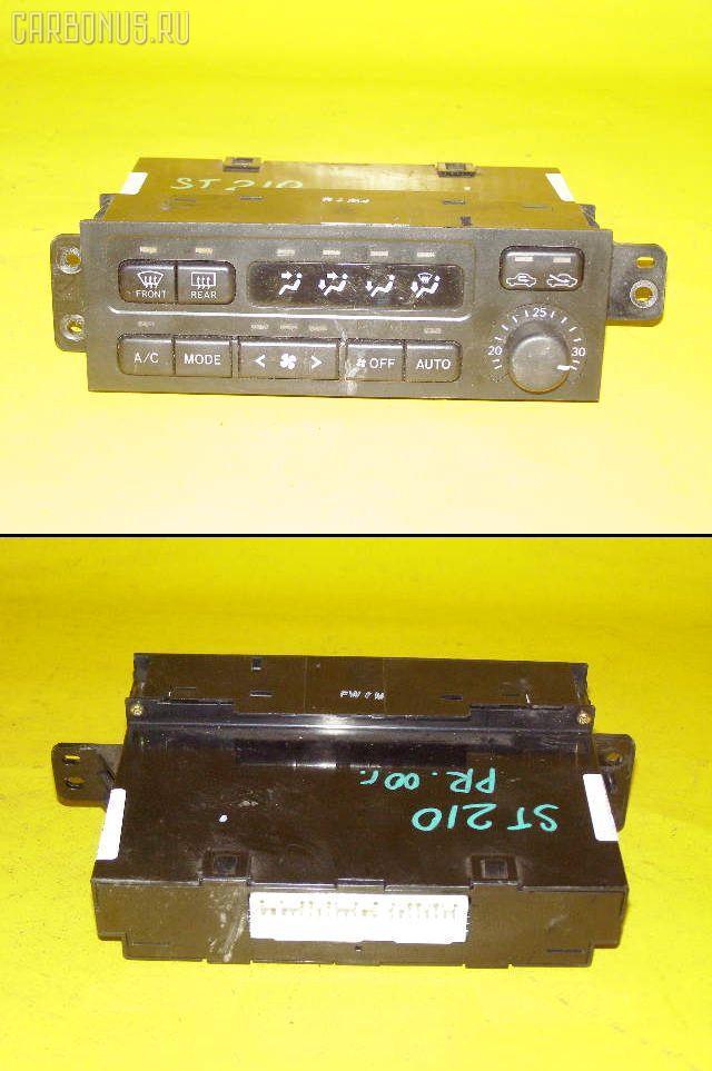 Блок управления климатконтроля TOYOTA CORONA PREMIO ST210 3S-FE. Фото 3