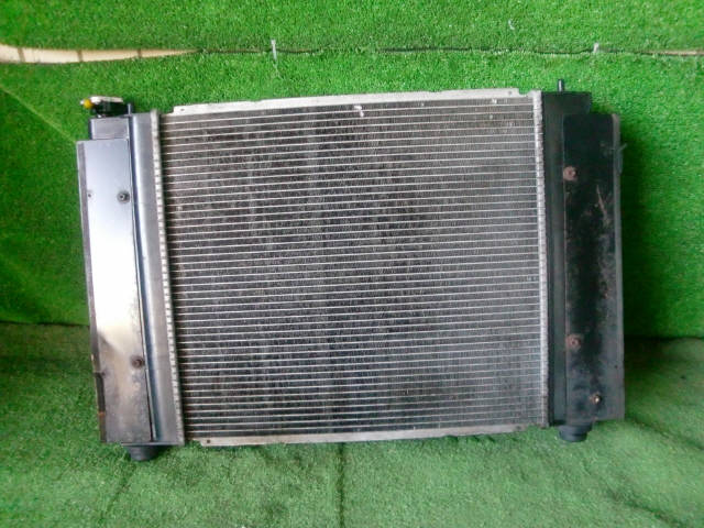 Радиатор ДВС TOYOTA CHASER JZX90 1JZ-GTE. Фото 10