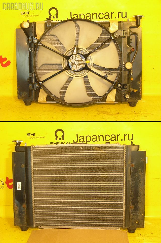 Радиатор ДВС TOYOTA MARK II JZX90 1JZ-GTE. Фото 7