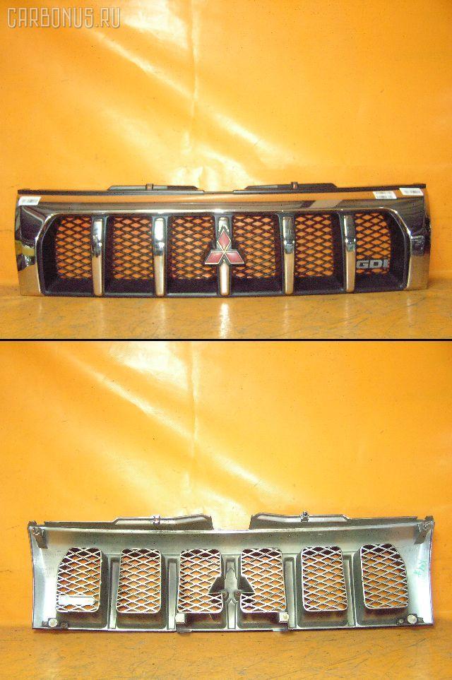 Решетка радиатора MITSUBISHI PAJERO IO H76W. Фото 9