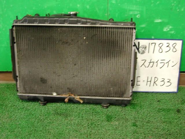 Радиатор ДВС NISSAN SKYLINE HR33 RB20E. Фото 3
