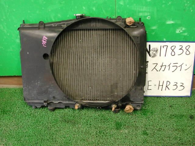 Радиатор ДВС NISSAN SKYLINE HR33 RB20E. Фото 2