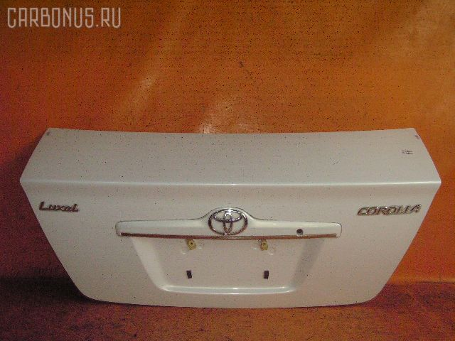Крышка багажника TOYOTA COROLLA ZZE122. Фото 10