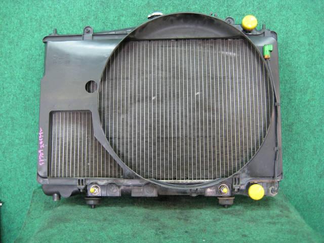 Радиатор ДВС NISSAN SKYLINE ENR33 RB25DE. Фото 3