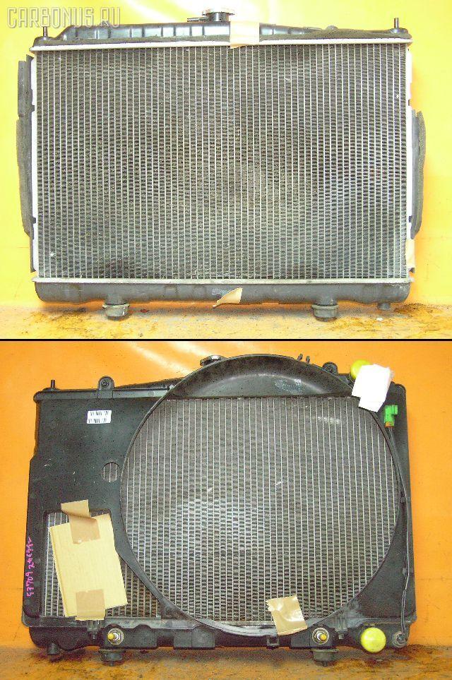 Радиатор ДВС NISSAN SKYLINE ENR33 RB25DE. Фото 1