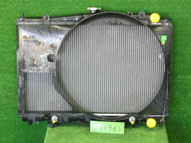 Радиатор ДВС NISSAN SKYLINE ENR33 RB25DE. Фото 6