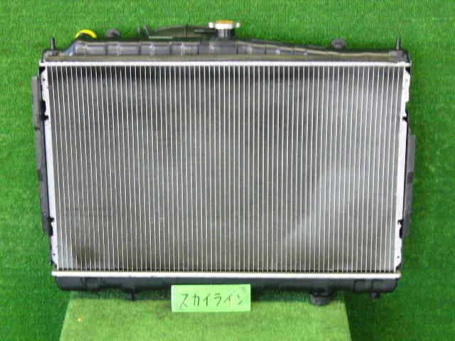 Радиатор ДВС NISSAN SKYLINE ENR33 RB25DE. Фото 5