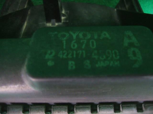 Радиатор ДВС TOYOTA COROLLA SPACIO AE111N 4A-FE. Фото 2