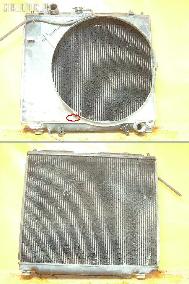 Радиатор ДВС MITSUBISHI PAJERO V26W 4M40T. Фото 1