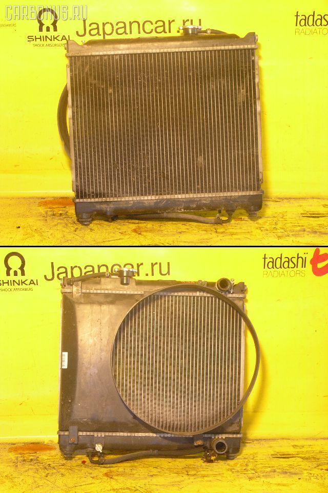 Радиатор ДВС SUZUKI ESCUDO TA01W G16A. Фото 2