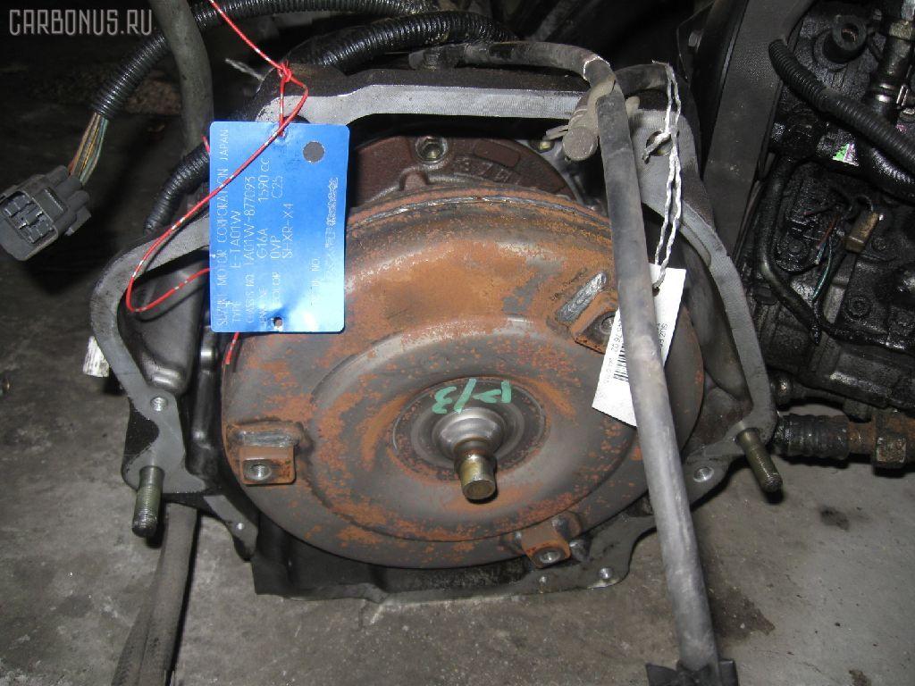 КПП автоматическая SUZUKI ESCUDO TA01W G16A. Фото 2