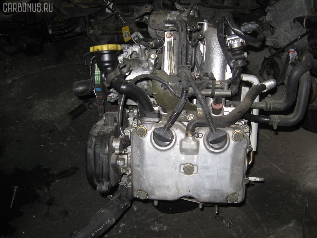 Двигатель SUBARU IMPREZA WAGON GG3 EJ152. Фото 6
