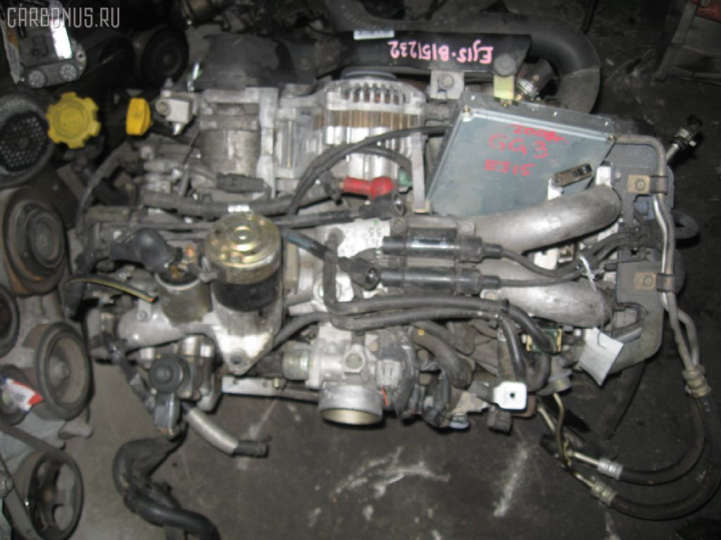 Двигатель SUBARU IMPREZA WAGON GG3 EJ152. Фото 9