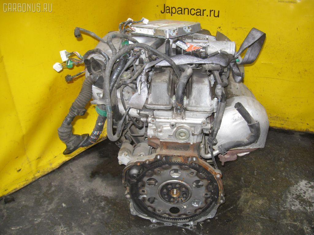 Двигатель TOYOTA CROWN JZS155 2JZ-GE. Фото 4