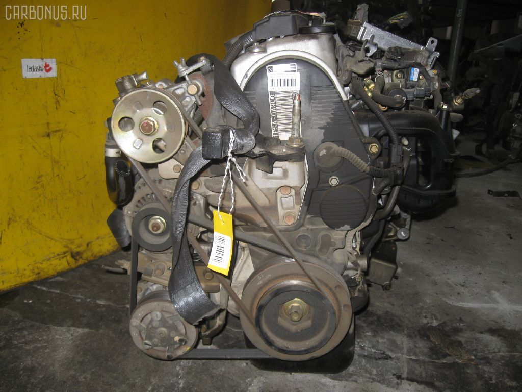 Двигатель HONDA STREAM RN1 D17A. Фото 2