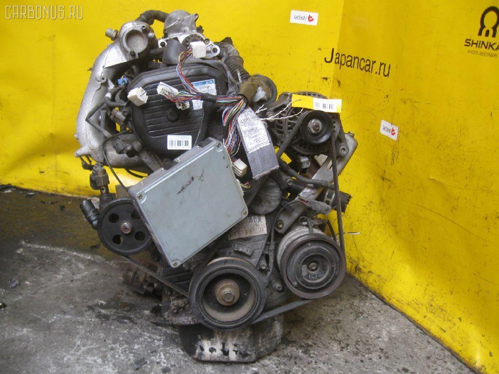 Двигатель TOYOTA MARK II QUALIS SXV25W 5S-FE. Фото 7