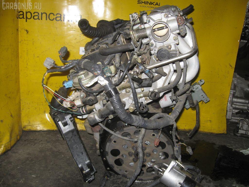 Двигатель NISSAN WINGROAD WHNY11 QG18DE. Фото 4
