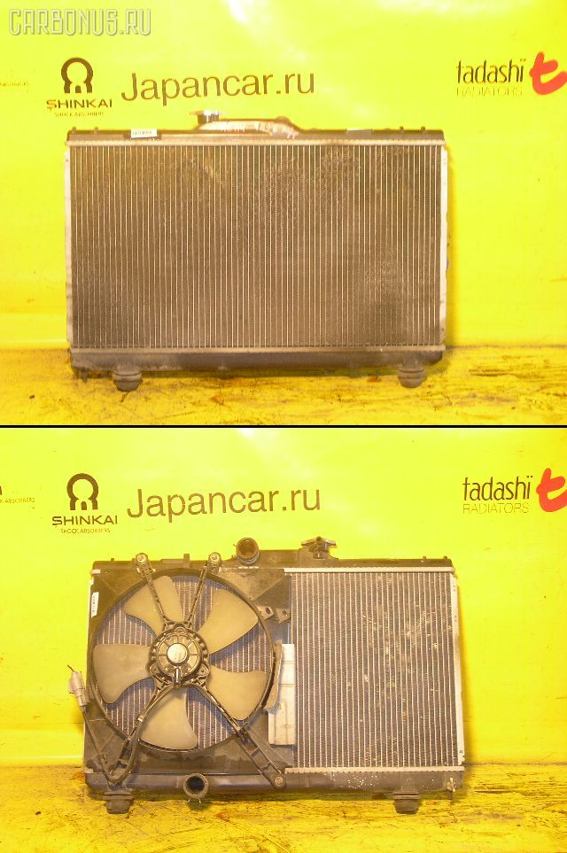 Радиатор ДВС TOYOTA SPRINTER AE114 4A-FE. Фото 1