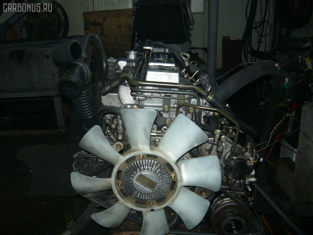 Двигатель MITSUBISHI PAJERO V26W 4M40T. Фото 1