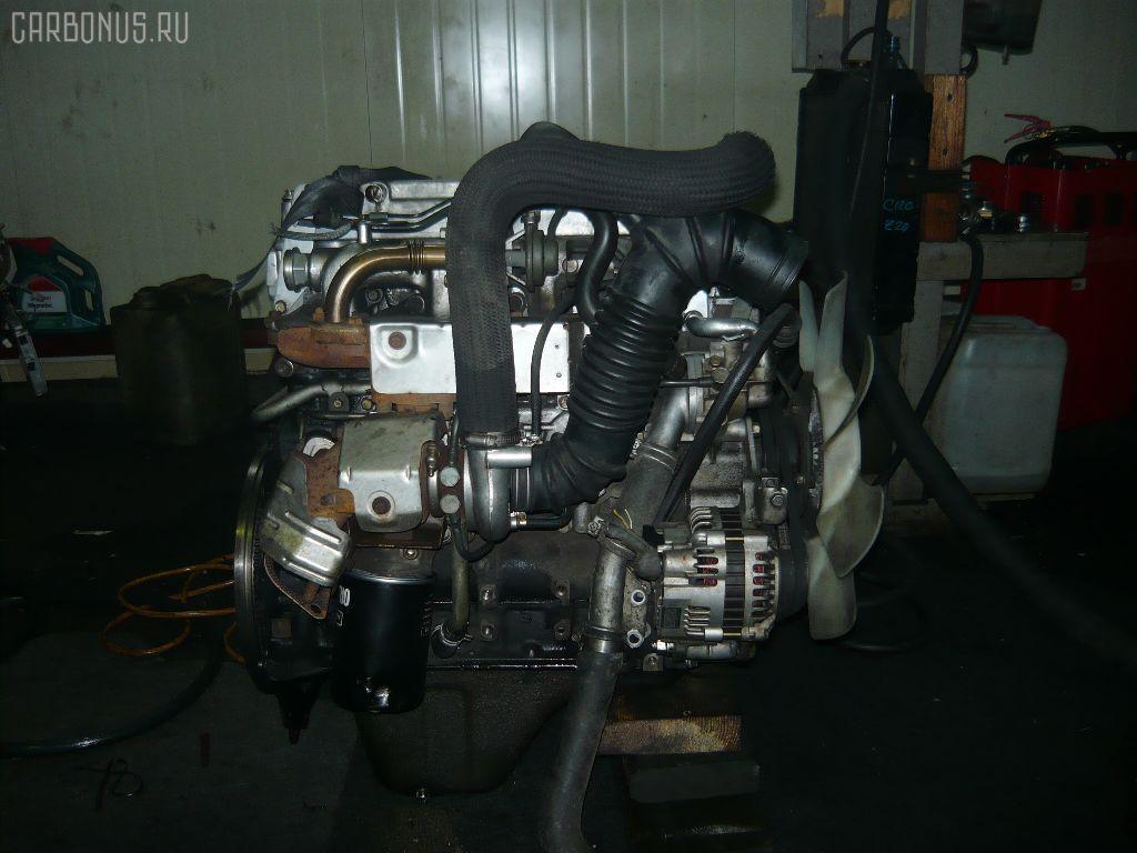 Двигатель MITSUBISHI PAJERO V26W 4M40T. Фото 2