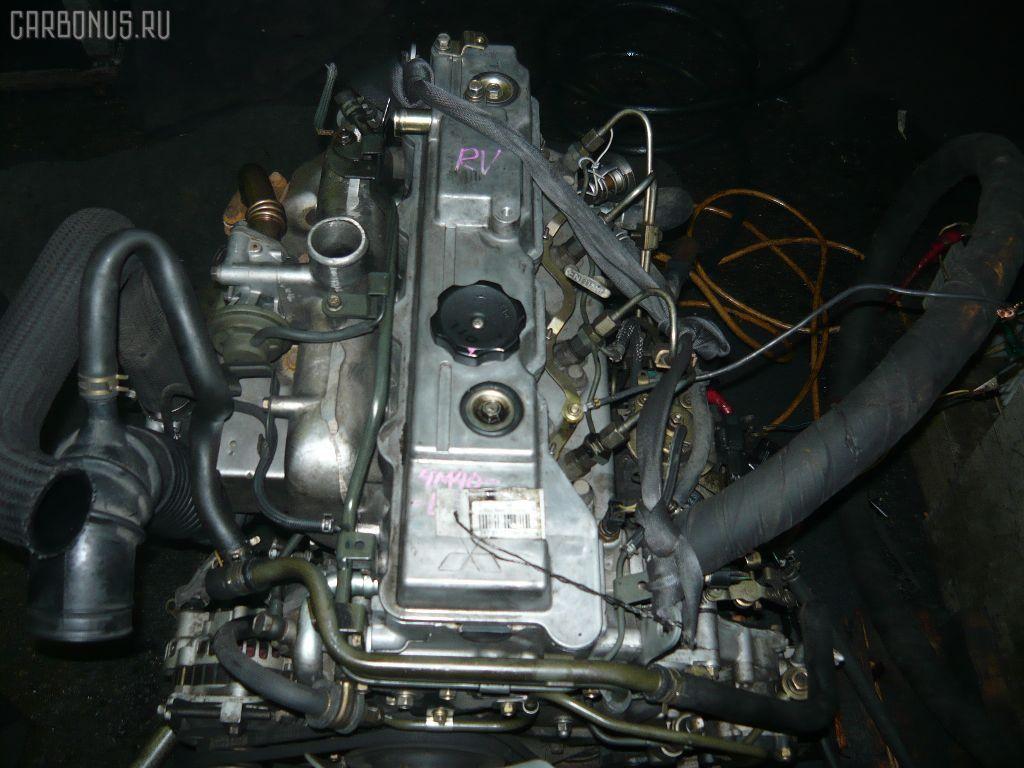 Двигатель MITSUBISHI PAJERO V26W 4M40T. Фото 5