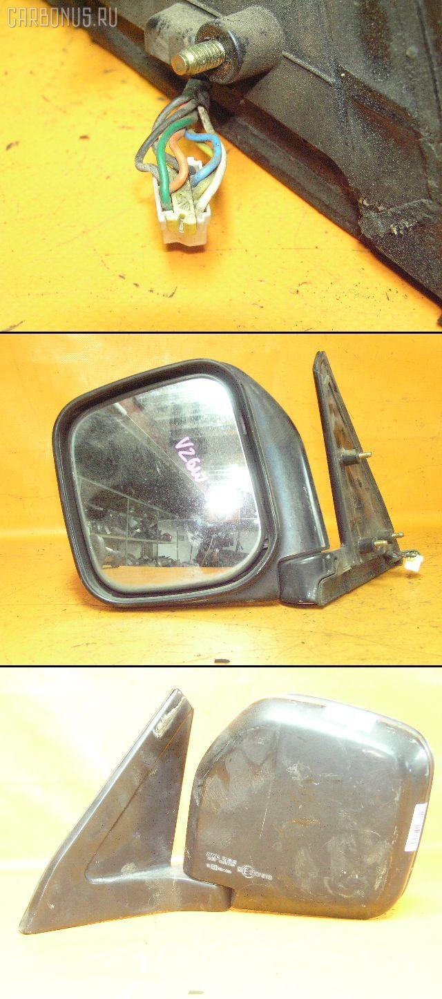 Зеркало двери боковой MITSUBISHI PAJERO V26W. Фото 1