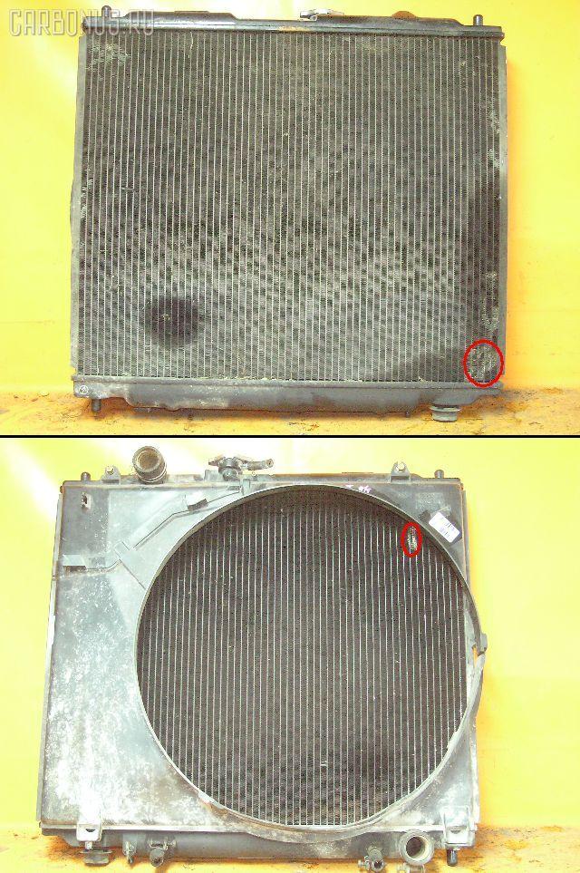 Радиатор ДВС MITSUBISHI PAJERO V26W 4M40T. Фото 2