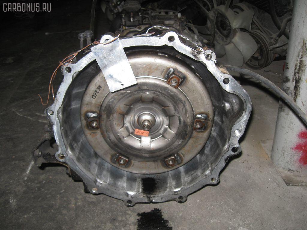 КПП автоматическая MITSUBISHI PAJERO V26W 4M40T. Фото 9