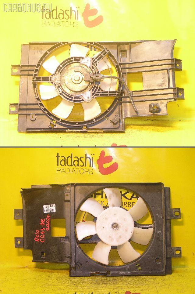 Вентилятор радиатора кондиционера NISSAN CUBE AZ10 CGA3DE. Фото 1