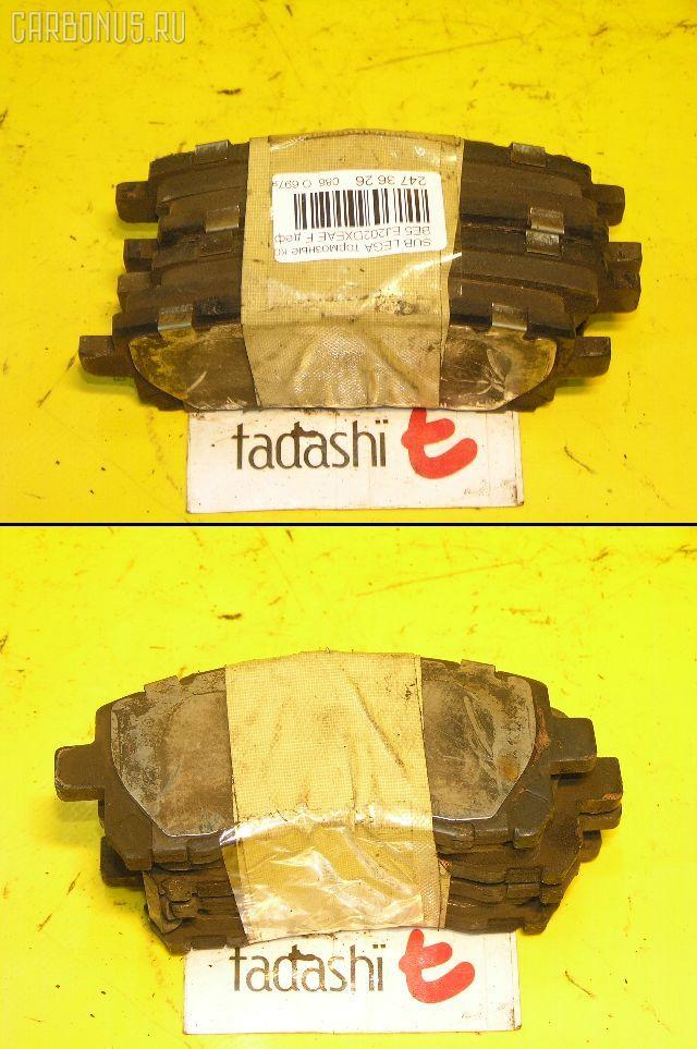Тормозные колодки SUBARU FORESTER SF9 EJ25. Фото 1