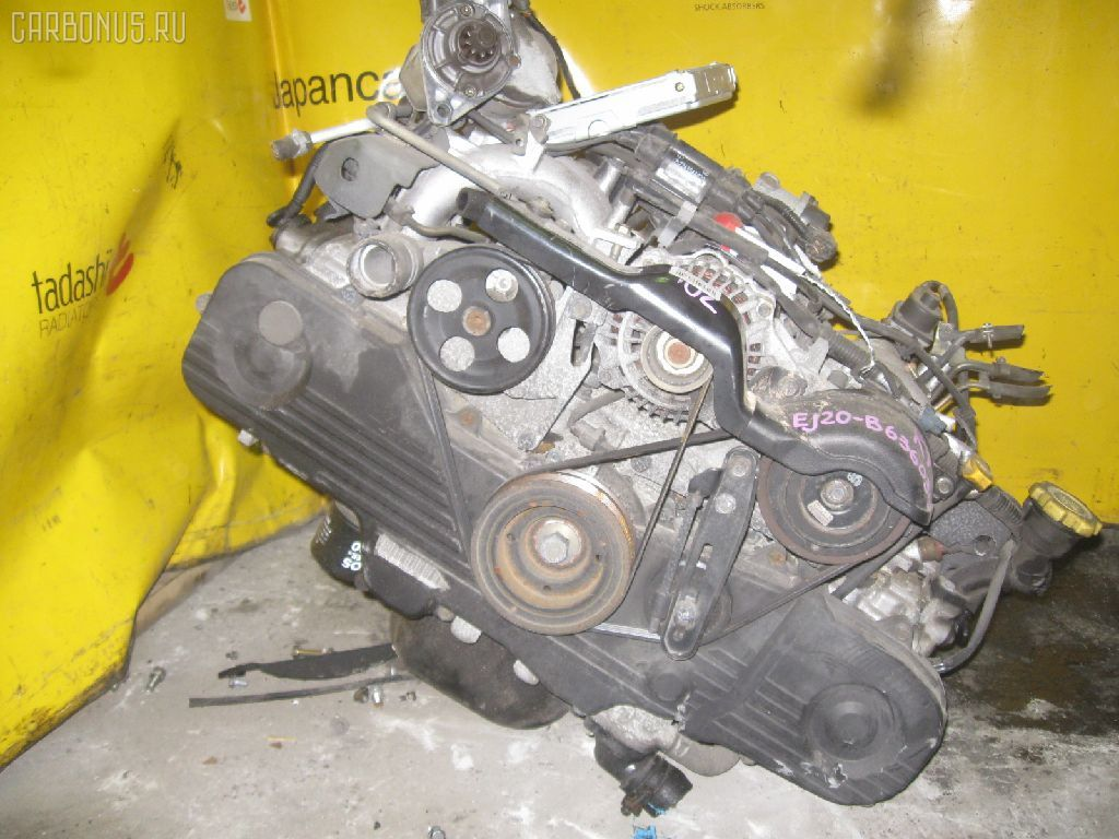 Двигатель SUBARU LEGACY B4 BE5 EJ202. Фото 1