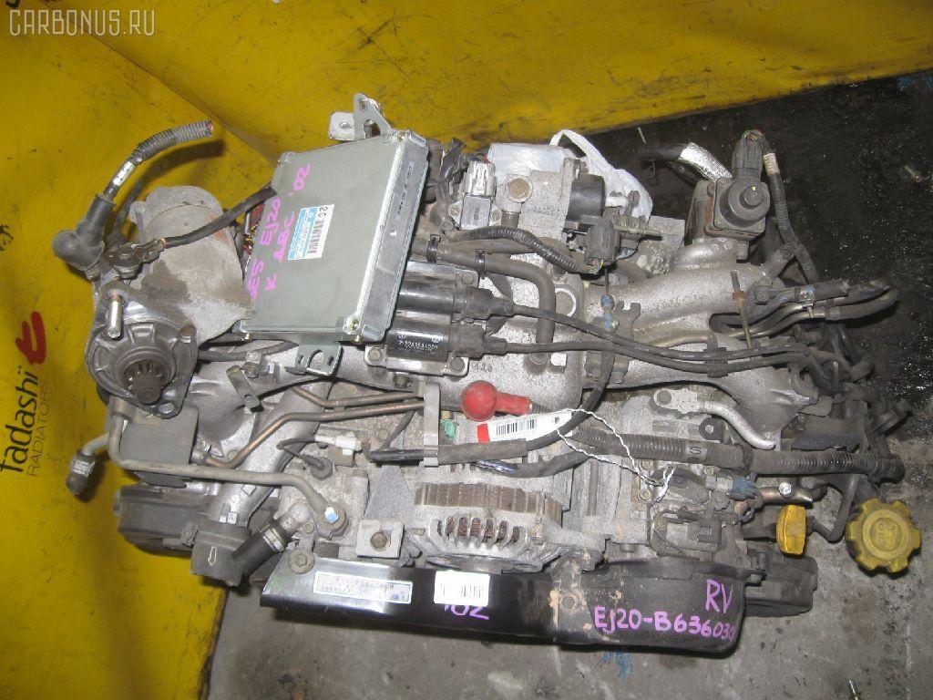Двигатель SUBARU LEGACY B4 BE5 EJ202. Фото 2