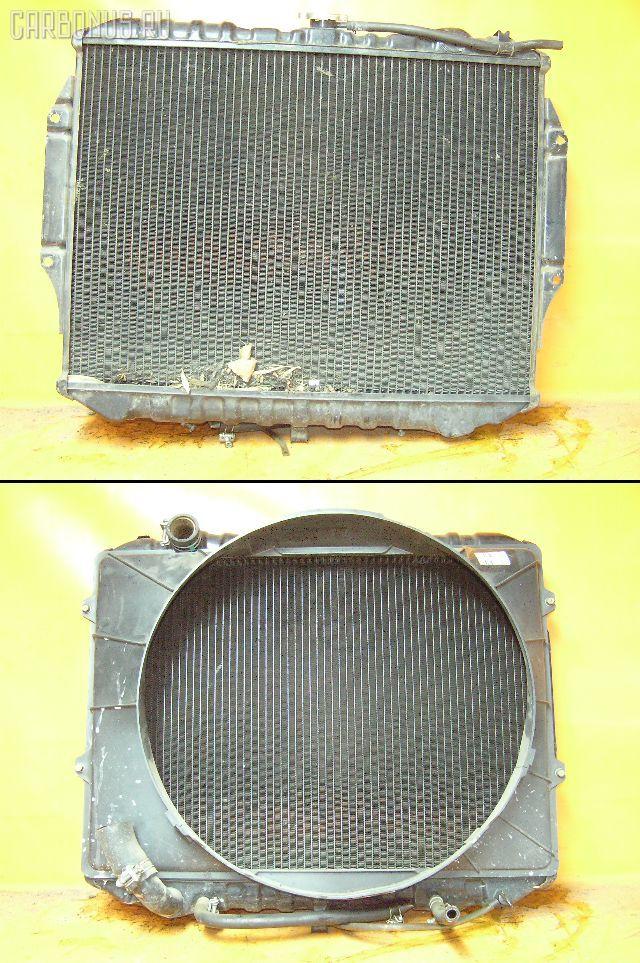 Радиатор ДВС MITSUBISHI PAJERO V43W 6G72. Фото 3