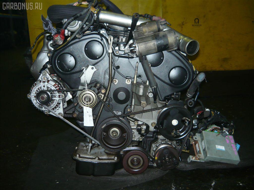 Двигатель MITSUBISHI GALANT EC5A 6A13-TT. Фото 1